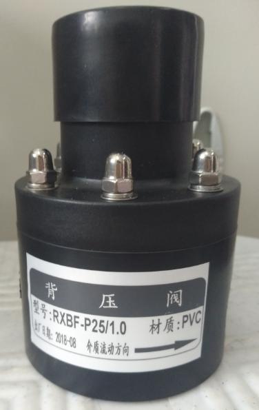 背压阀安全阀RXBF-P25/1.0