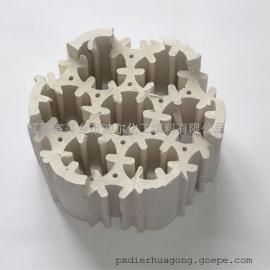 迪尔轻瓷多齿填料脱硫塔轻瓷填料焦化厂脱硫填料轻瓷多齿环