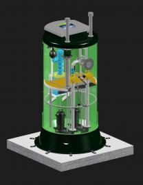 标准立式污水泵站,标准立式雨水泵站