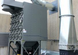 滤筒除尘器 焊烟滤筒除尘器 直插式滤筒除尘器清大环保