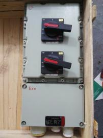防爆照明动力配电箱铁壳负荷开关380/660隔离开关箱外操作控制箱