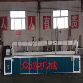 原木门生产设备自动木工铣边机 直线拼板机