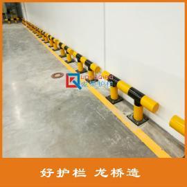 高质量 车间防撞护栏 厂区防撞护栏 龙桥可根据需求定做