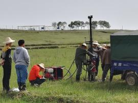 HP-18液压原状土壤取样钻机