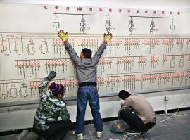 生产工艺流程屏环亚科泰