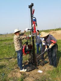 HP-18液压直推钻机土壤钻机