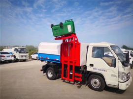 福田时代挂桶垃圾车