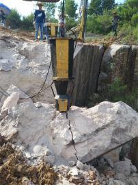 液压劈裂机开硬石头
