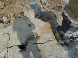 静态岩石撑石机