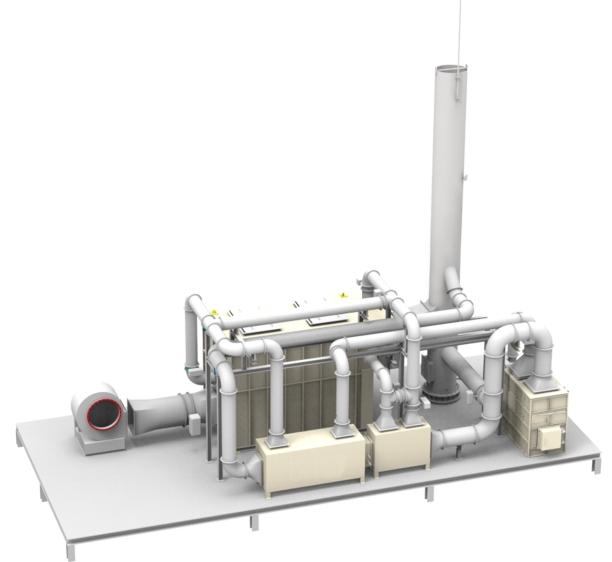 废气治理技术活性炭吸脱附催化燃烧