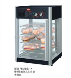 美国进口赫高Hatco FDWDE-1 旋转保湿保温展示柜(单门)商用