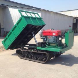 2吨履带车用于农田水利工程 农用履带车操作方便
