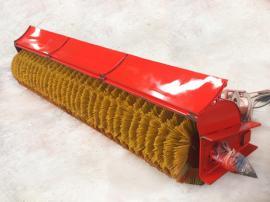 2米扫雪滚扫 除雪车专用雪滚刷 除雪滚 辊扫刷