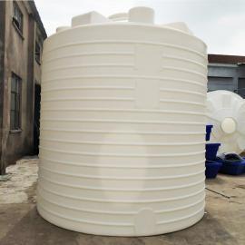 20吨塑料水塔滚塑定制塑料储罐大容积高强度水箱厂家直销