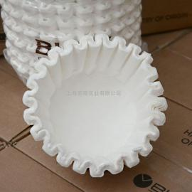BUNN20109大号商用滤纸BUNN U3 SUR冲茶机专用滤纸展开直径45cm