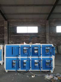 京信 jx-5000 碳钢喷塑 厂家直销 静电等离子净化器