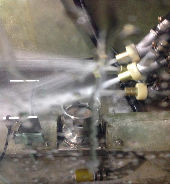 吉川硬质合金刀片专用水喷砂机