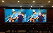 会议大厅可拆装的P2.97租赁LED屏幕出厂价