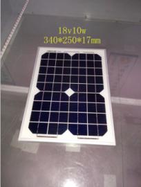 芯诺单晶10w太阳能板 XN-18V10W-M