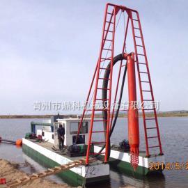 鼎科射流式抽沙船 水库航道清淤开挖疏浚 射吸式吸沙船欢迎定制