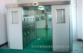 双开门货淋室/90度闭门器可定位货淋室/货淋通道