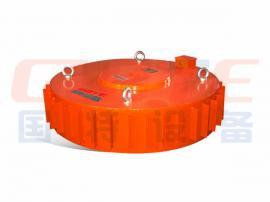 国特RCDB干式电磁除铁器透磁深度大、吸力强、防尘、防雨、耐腐蚀