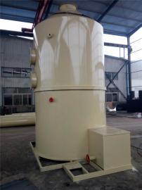 焚烧厂废气处理耐酸碱喷淋塔 PP水洗喷淋废气净化塔