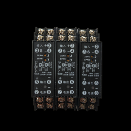 WS1520交流电压信号隔离变送器AC0-100V 0-200V输入