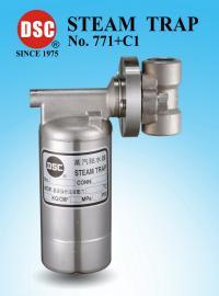 DSC771不�P�倒桶式蒸汽疏水�y��C1�f向接�^