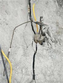矿山开采快速破石分裂机开山不用爆破设备
