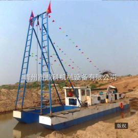 河道河沙射吸式抽沙船 鼎科射吸式抽沙船施工视频 求购抽沙船