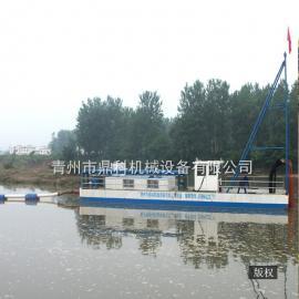 大型抽沙船采沙平台平台 河道水库吸扬挖泥船 清淤取沙工程