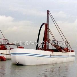 自抽自卸式抽沙运输船 鼎科自筹自载自运自卸抽沙船加工定制