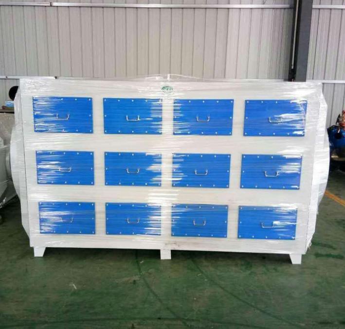 京信JX-HT5000 碳钢喷塑废气净化 活性炭光氧一体机 废气净化