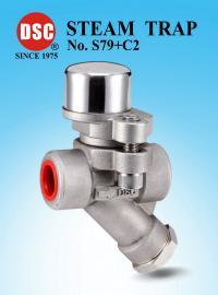 DSC全不�P�膜片平衡型附�f向接�^蒸汽疏水�y