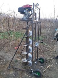 水泥电杆挖坑钻洞机操作方便灵活