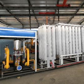 LNG气化调压计量加臭一体撬 空浴式气化器减压一体撬