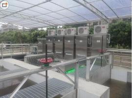 污水处理厂过流式紫外线杀菌消毒设备明渠式紫外线消毒设备
