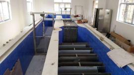 厂家直营污水处理320W紫外线消毒设备明渠式排架