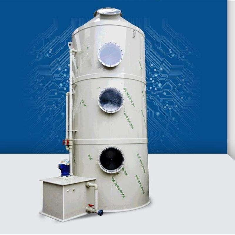京信 喷淋塔 厂家直供 光氧净化器 不锈钢喷淋塔工业废气处理