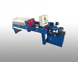 液压自动保压厢式压滤机40平方800型
