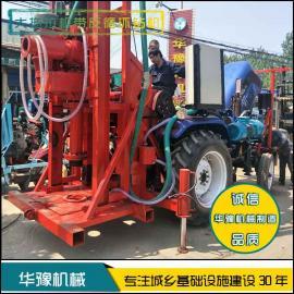 华豫大拖拉机带反循环钻机 车载反循环打桩机