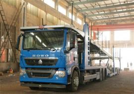 国五重汽豪沃中置轴轿运车生产厂家配置图片