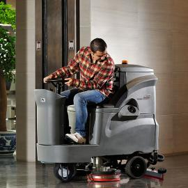 GM110BT85高美驾驶式洗地车 中型驾驶式洗地机