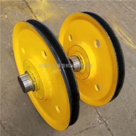 亚重16t港机滑轮组 双梁行车铸钢滑轮组 滑车滑轮组 非标定制