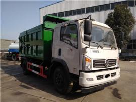 全密闭12吨污泥运输车_污水厂供排水公司清运含水污泥车