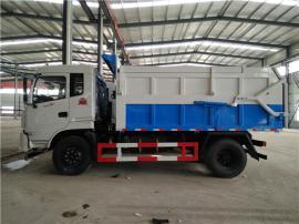 防上冻12吨15吨污泥运输车_厢体带加热滴水不漏运输污泥车