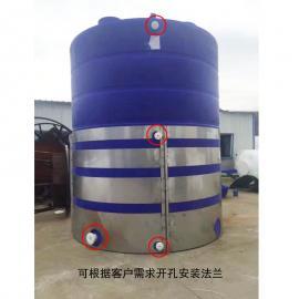 厂家直销30吨pe储水箱超大容积高强度水箱多功能圆型水塔
