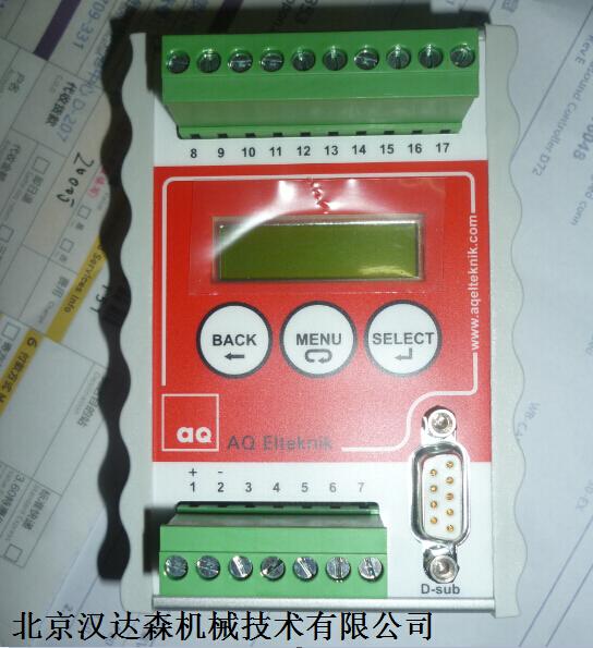 瑞典AQ 控制器D72无菌设计食品制药首选