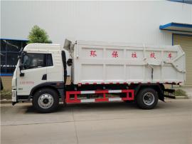 厢体加热15吨含水污泥运输车-防上冻运输含水污泥自卸车